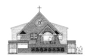 Elevation of All Saints' Church