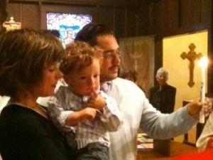 Clayton's Baptism
