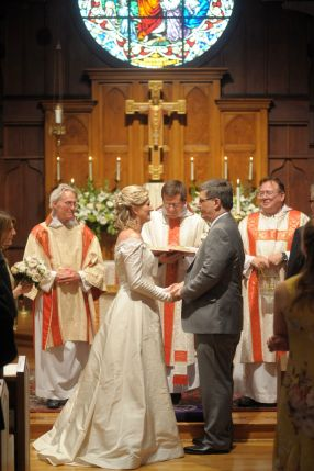 Wedding in All Saints' Church