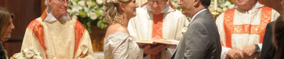 Wedding in All Saints' Church