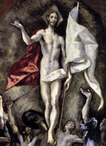 The Resurrection by El Greco